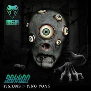 Saxxon - Visions / Ping Pong - BSR001